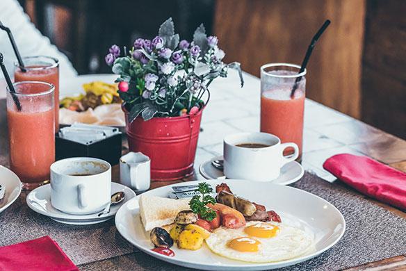 Schlosshotel Horneck Frühstück