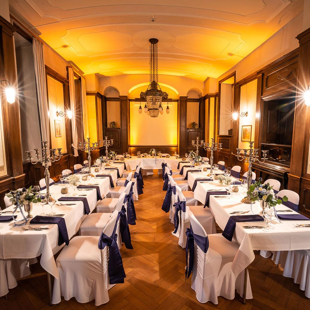 Jugendstilsaal Feiern im Schloss Horneck