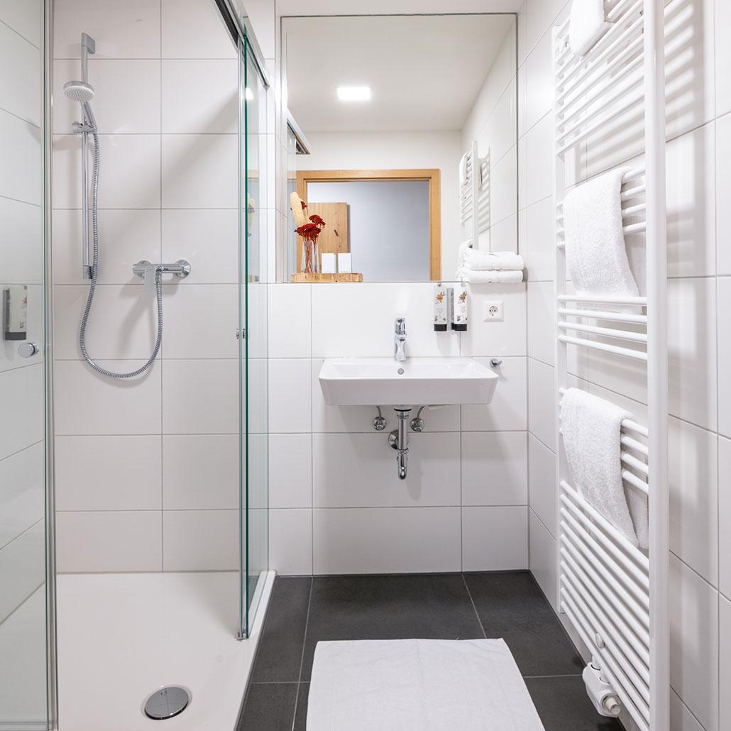 Badezimmer Schlosshotel Horneck