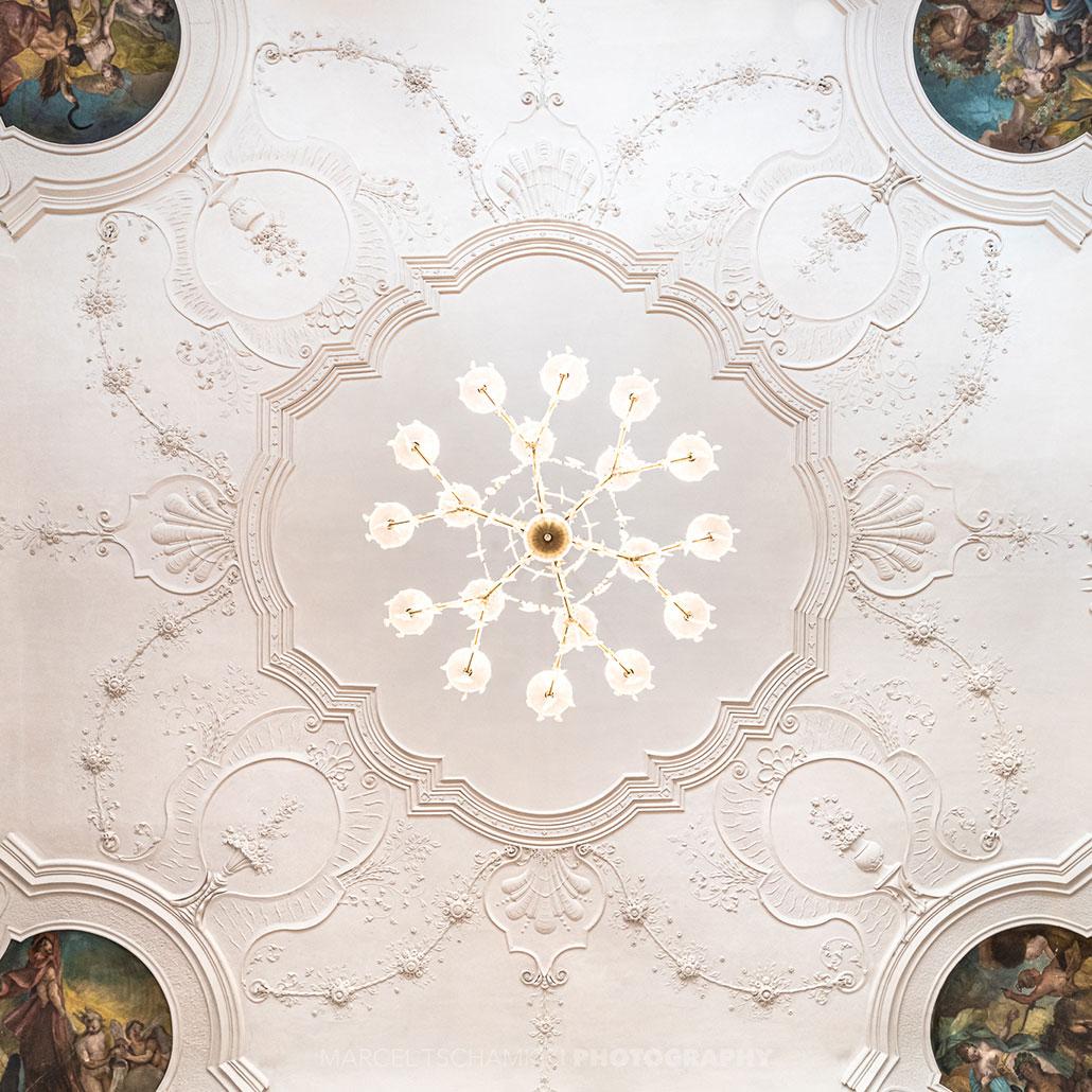 Festsaal im Schlosshotel Horneck