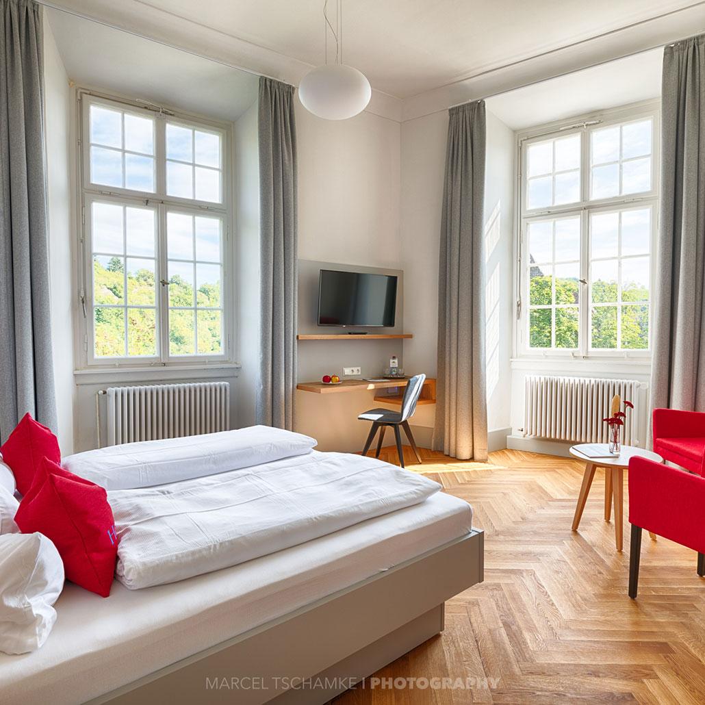 Zimmer Schlosshotel Horneck
