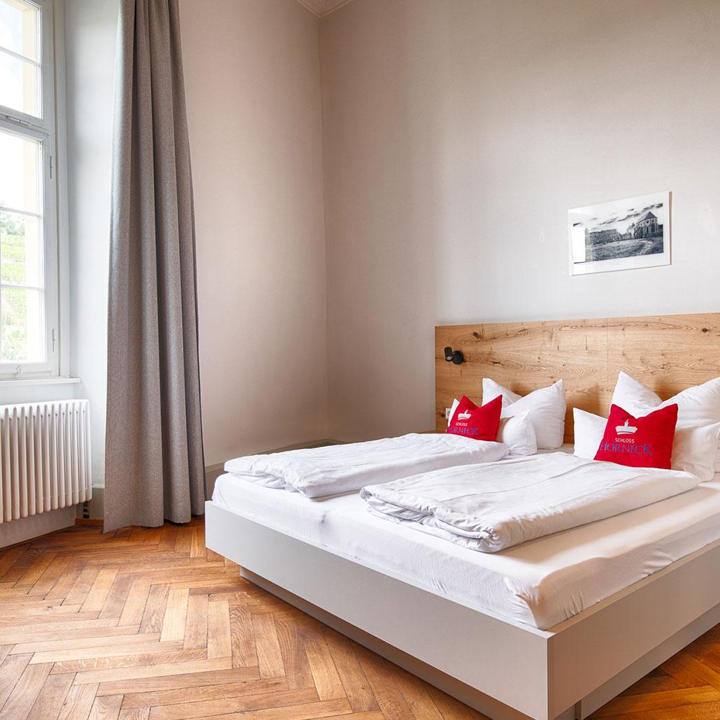 Übernachten in Gundelsheim mit Flair im Schlosshotel Horneck
