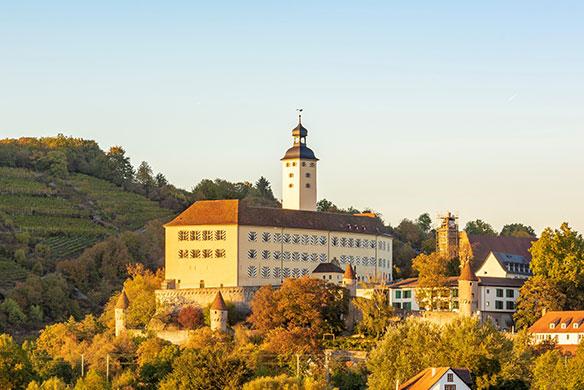 Schloss Hotel Horneck in Gundelsheim